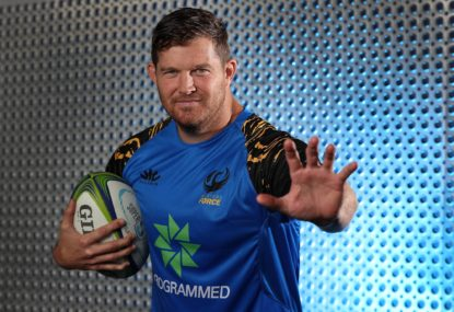 Greg Holmes, 38, becomes Australian rugby's answer to Steven Bradbury, and our oldest ever pro Wallaby