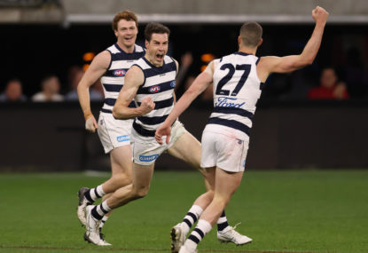 Third-quarter blitz sees Cats past Giants and into prelim