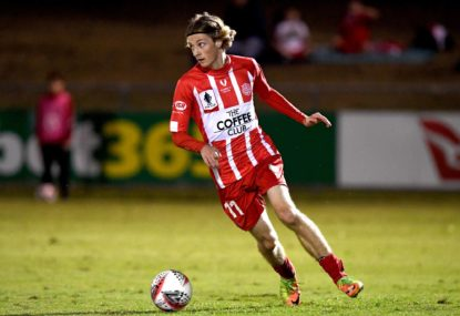 Jez in the house: NPL star tipped to make A-League impact after Roar signing