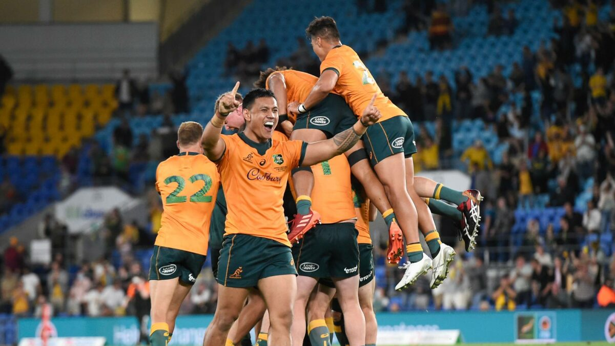 Well done to the Wallabies for finally proving me wrong