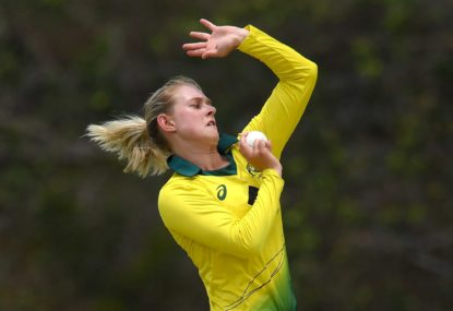 Maitlan Brown hoping to make Aussie debut in series against India
