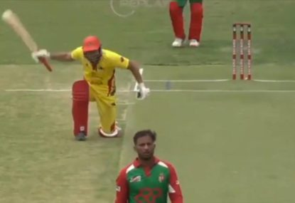 WATCH: Romanian cricket viral sensation does it again with brilliant celebration for his first ever boundary