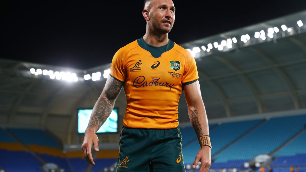 Rugby Championship turnaround: What a difference a Quade makes