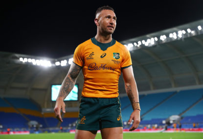 'At no stage have I agreed to play': Quade Cooper denies Barbarians commitment
