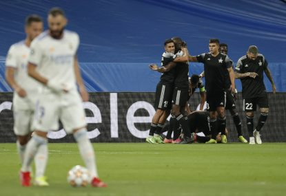 Real Madrid shot down by Sheriff in unbelievable Champions League upset
