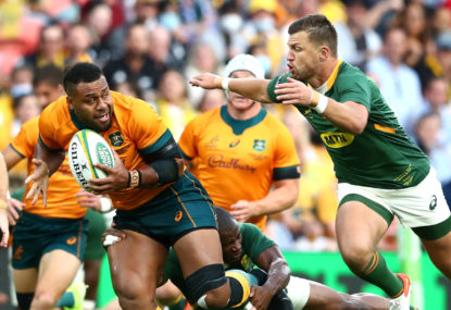 The Wrap: Wallabies rocket ahead while the Springboks are lost in space