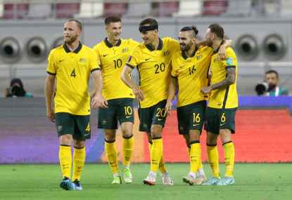 The Socceroos and West Ham United winning should make football fans very uncomfortable