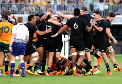 MATCH REPORT: Rennie called for a foot on the throat, but All Blacks' response was 'ruthless'
