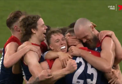 WATCH: The moment Melbourne's 57-year premiership drought broke