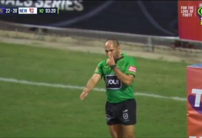 WATCH: Were the Knights dudded by Parramatta's penalty try?
