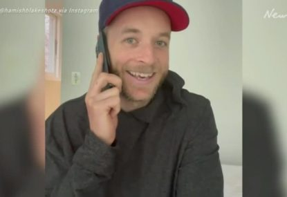 Hamish Blake makes some hilarious phone calls to try and trick his way into the AFL Grand Final