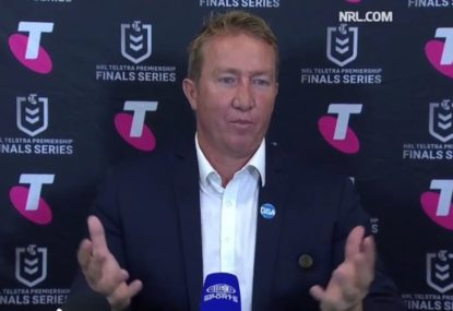 Trent Robinson's classy message for NRL despite crushing finals loss