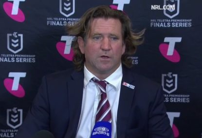 Des Hasler outdoes himself with his weirdest press conference yet