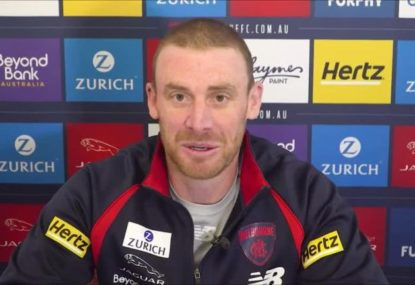 Simon Goodwin lifts the lid on the mystery illness that sidelined him from Dees training
