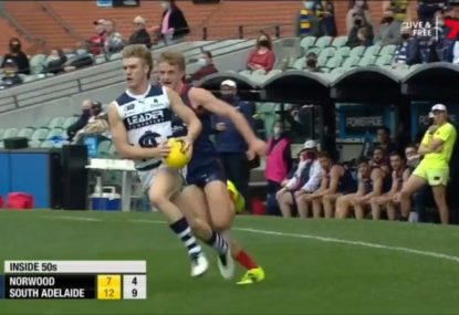Top draft prospect Jason Horne-Francis lights up Adelaide Oval with stellar SANFL semi-final show