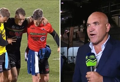 'I don't like it': Gorden Tallis slams NRL injury rules after Mitch Kenny incident