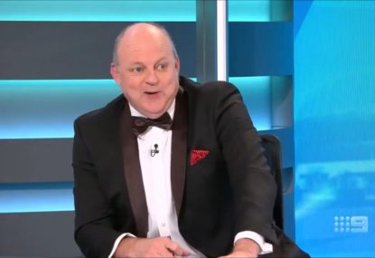 'Get out before I get pushed!' Billy Brownless announces Channel Nine retirement in typical style