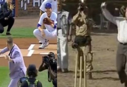 Conor McGregor does the baseball version of John Howard with pitch shocker