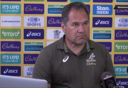 'Who says we're favourites?' Dave Rennie isn't buying into Wallabies' status ahead of Argentina Tests