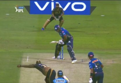 Kieron Pollard finds the most audacious way to leave a yorker, amazes commentators