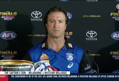 Beveridge opens up on the moment he told Dogs duo they would miss Grand Final