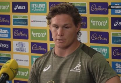 'We've had two decent games': Wallabies not getting ahead of themselves, says Michael Hooper