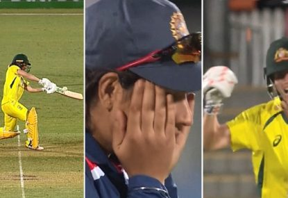 WATCH: Aussie women's drama as wafer-thin no ball call sparks the craziest finish you'll see