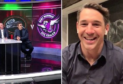 Sterlo's savage mid-interview Queensland roast cracks even their new coach up