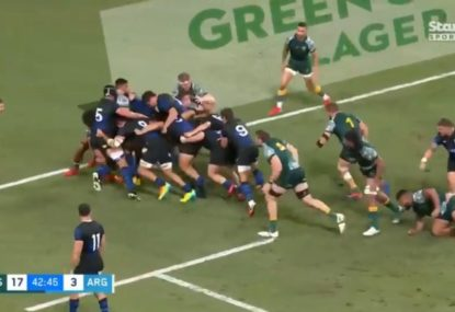 Argentina show what they're capable of with unstoppable maul