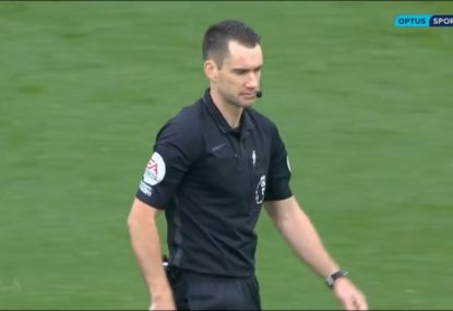 Aussie referee divides opinion in history-making Premier League debut
