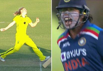 More no-ball drama as India surge home to end Australia's winning streak