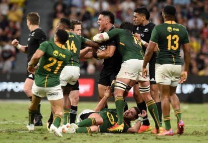 Boks coach bemoans 'bounce of the ball' as youngster's massive play secures All Blacks win
