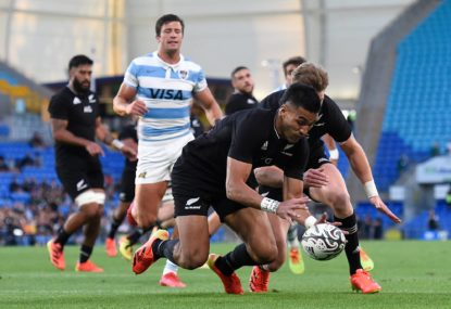 All Blacks vs Argentina: See how New Zealand made light work of the Pumas