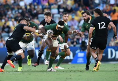 The Wrap: Rugby Championship rediscovers its DNA and ends with a thriller