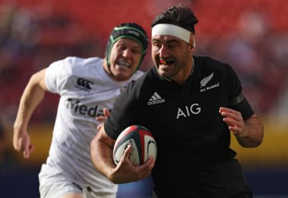 'His stock is rising': Christie, Tupaea outstanding as All Blacks crack century against USA