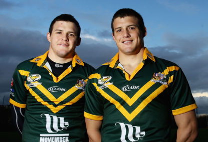 Brothers in arms: Kangaroos in the family