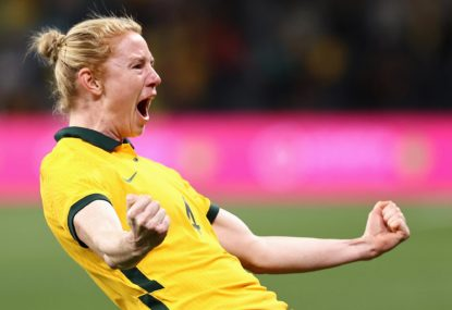 Matildas remain undefeated at home in 2021 but stung by Brazilian fightback