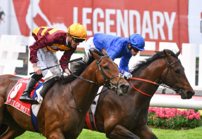 Cox Plate drama as protest mars thrilling finish