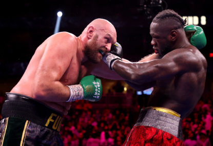 Still the Gypsy King! Fury downs Wilder in fight for the ages