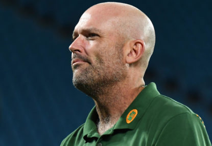 'We stuffed it up': Springboks apologise for waterboy incident