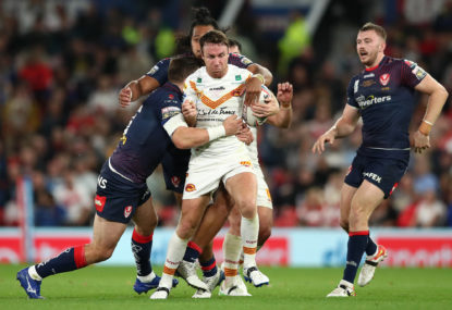 No fairytale farewell for James Maloney as St Helens notches Super League hat-trick
