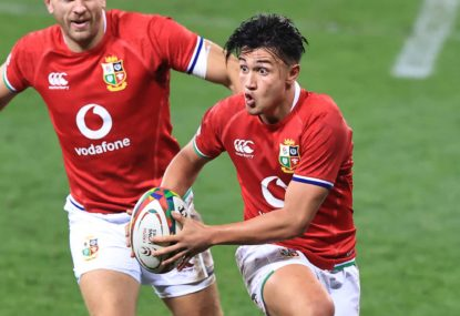 'Give him the keys to grandpa's car': Why England's obsessed with the kid on a Quade Cooper collision course