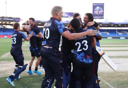 Namibia make history at T20 World Cup