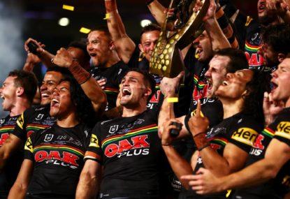 NRL wants answers on Penrith trophy break