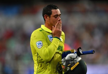 'I am not a racist': Quinton De Kock apologises, says 'for me, black lives have mattered since I was born'