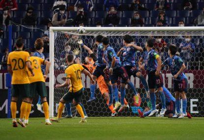 'Really great, intelligent football': Arnie's weird boast as Socceroos' Japanese jinx continues