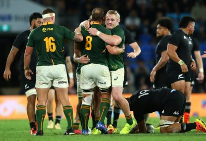 Belief, brutal strength, bloody-mindedness: The Boks are bloody back, baby!