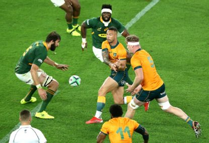 Seven Wallabies, five All Blacks and three Boks in our Team of The Rugby Championship
