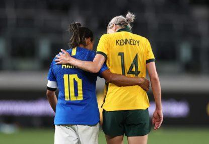 Matildas vs Brazil series gives fans a glimpse of 2023