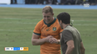 WATCH: The moment Reece Hodge suffered his latest nasty injury